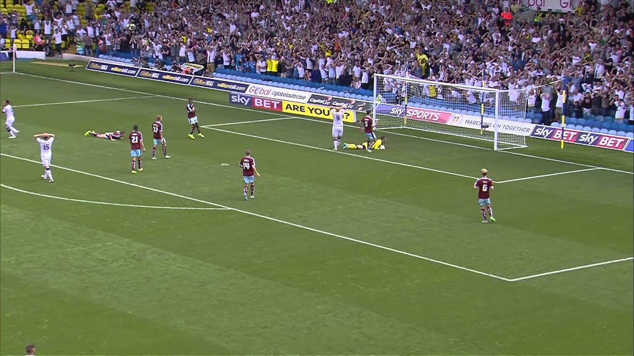 Leeds v Burnley - YouTube