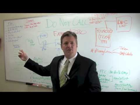 Real Estate Brokers and Agents and Do Not Call List - Part 3