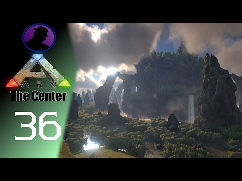 Let's Play ARK Survival Evolved - The Center - Ep. 36 - How Close Can YOU Get To Death?
