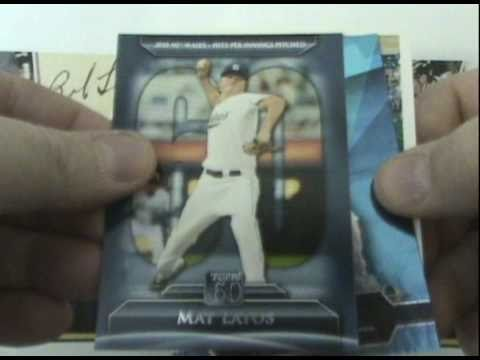 Topps 2011 Baseball Series One 1 Cards Blaster Box Break.  First day of release.