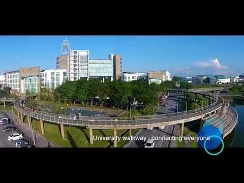 UNIMAS - Full View of University Malaysia Sarawak.The most beautiful varsity of Malaysia