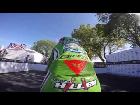 Official - Kawasaki Ninja H2R - Isle of Man - Onboard Lap