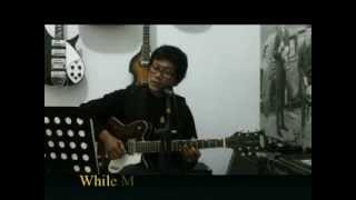 While My Guitar Gently Weeps cover by Arfan BeatFour