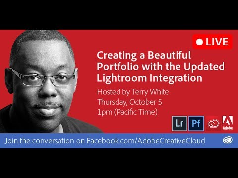 Create Your Photography Portfolio with Adobe Portfolio and Updated Lightroom Integration