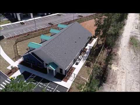 Drone video of the Education Station Preschool  & Daycare facility at San Felasco Tech City