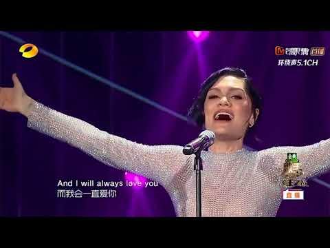 Jessie J - I Will Always Love You (Live 2018)