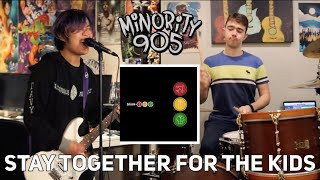 Blink 182 Stay Together For The Kids Cover By Minority 905