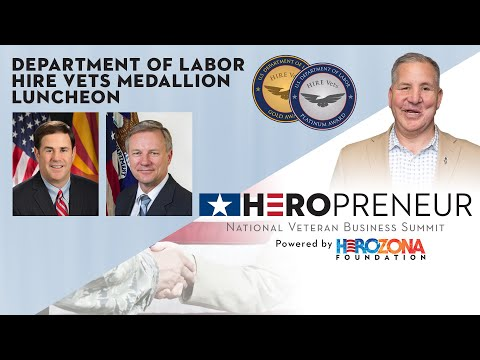 Department of Labor HIRE Vets Medallion Awards Luncheon & Keynote