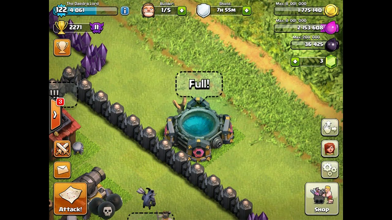 clash of clans spell factory - photo #25