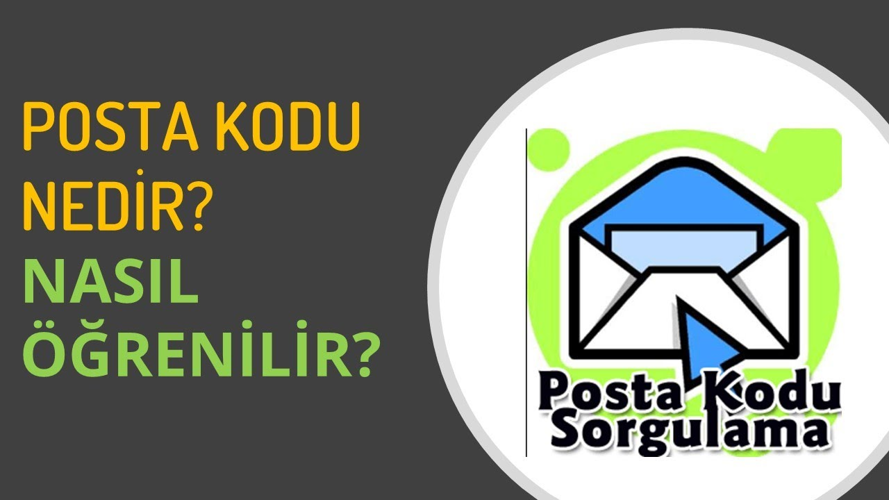 Posta Kodumu nasıl öğrenirim?