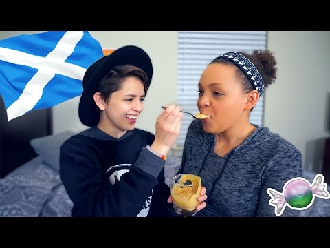 TRYING SCOTTISH SNACKS!
