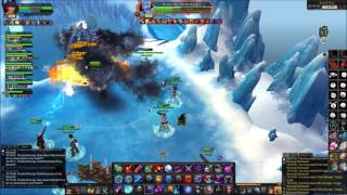 Royal Quest - Boss Konung Windswall PVE Gameplay