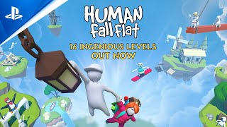 Human: Fall Flat - 16 Amazing Levels | PS4
