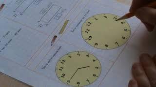 Урок 4. Часы и минуты. Разностное сравнение.