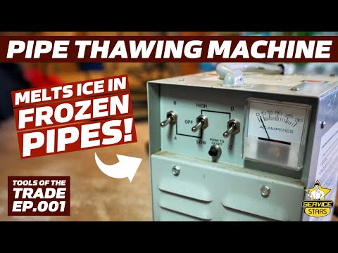 Pipe Thawing Machine // Tools Of The Trade EP.001