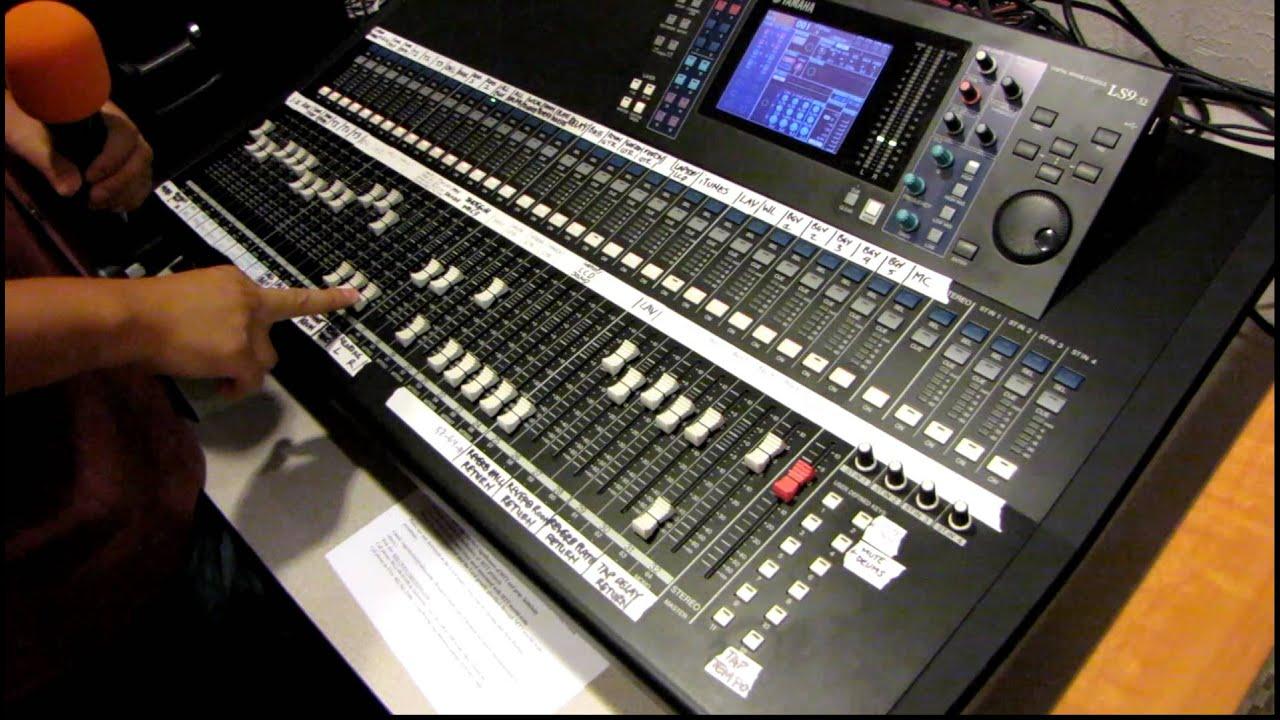 Yamaha LS9 Digital Mixer 64 BIT