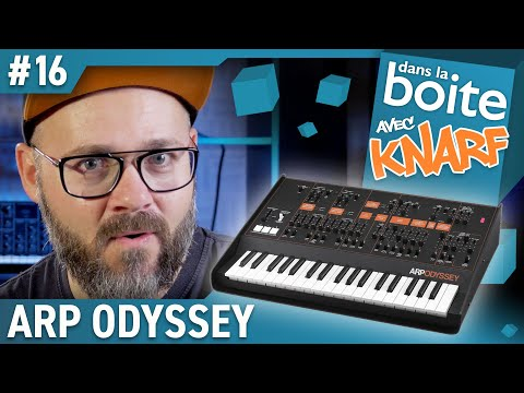 Un ARP Odyssey, excellent ! On va le tester ! Dans la Boite avec Knarf (Vidéo la Boite Noire)