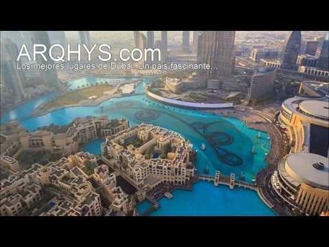 Los mejores lugares para visitar en Dubai. Increible...