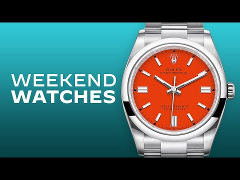 Rolex Oyster Perpetual 36 Coral Red Dial Review & Luxury Preowned Watch Buyer's Guide