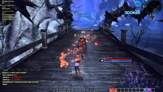 Tera Online Sorcerer Game Play : Sorcha's Reckless Challenge