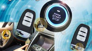 Сигнализация 3 в 1. Кнопка старт стоп, бесключевой доступ и автозапуск