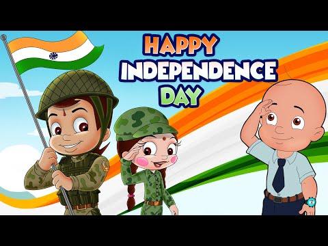 Chhota Bheem - Happy Independence Day | #5MinutesforMyCountry