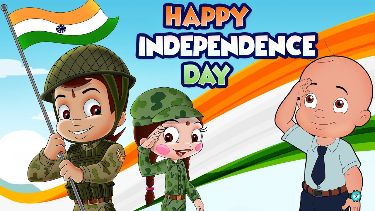 Chhota Bheem Happy Independence Day 5minutesformycountry Youtube