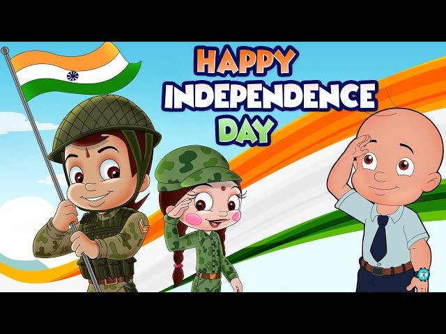 Chhota Bheem - Happy Independence Day | #5MinutesforMyCountry