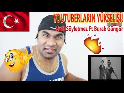 YOUTUBERLARIN YÜKSELİŞİ! Halil Söyletmez Ft. Burak Güngör - Işıklar Söner |Turkish Video Reaction