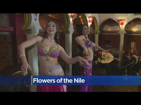 Belly Dancing Lesson At Kasbah Lounge
