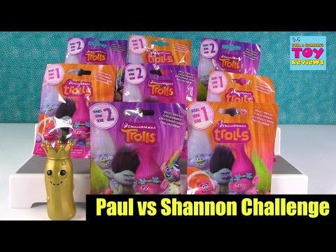 Paul vs Shannon Trolls Movie Series 1 & 2 Blind Bag Challenge Opening | PSToyReviews