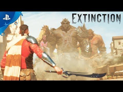 Extinction - Announcement Cinematic PS4 Trailer | E3 2017