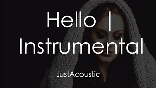 Video Hello - Adele (Acoustic Instrumental) download MP3, 3GP, MP4, WEBM, AVI, FLV Agustus 2017