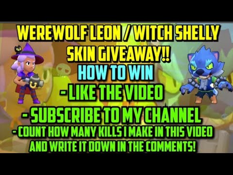 Werewolf Leon / Witch Shelly GIVEAWAY! (ends at 9 Nov)
