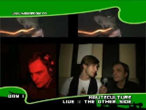 Frantz @ Kiss on tour Kiss TV interviu cu Dj Haute Culture & Suie Paparude 14.02.09