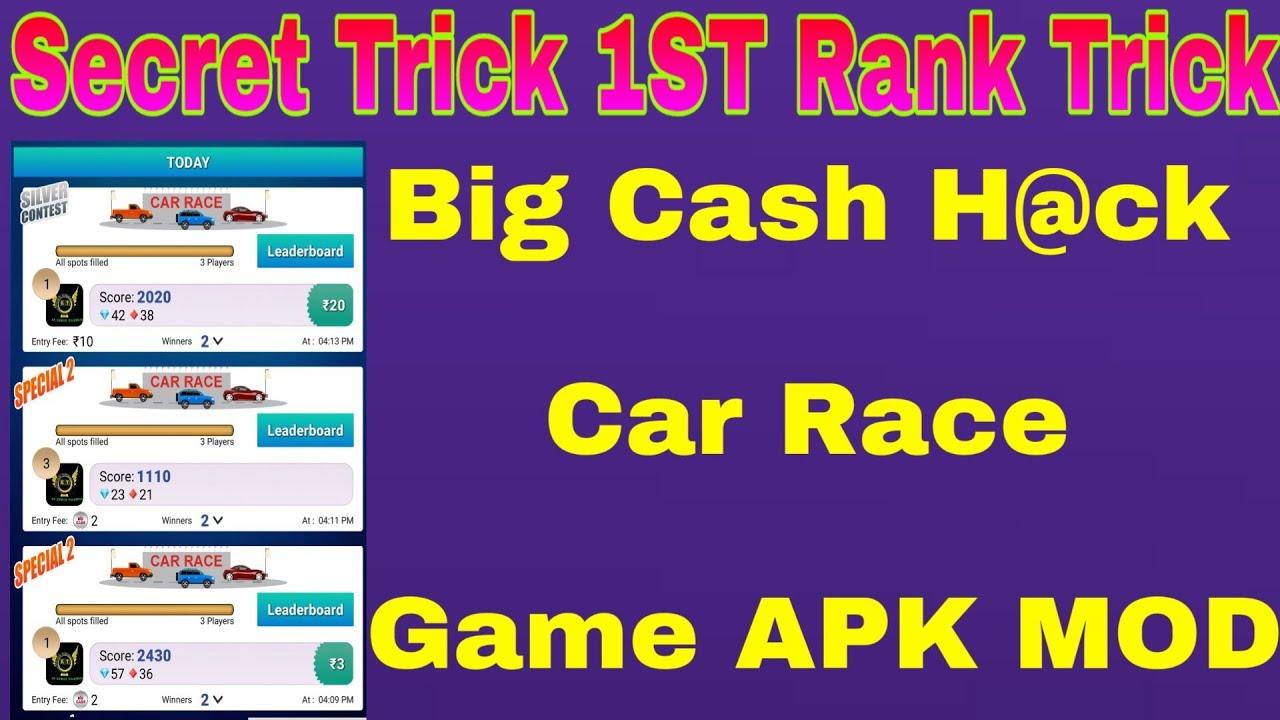 BIG CASH MOD APK Secret || BIG CASH TRICK 2019|| BIG CASH ALL GAMES MOD APK || NO BAN