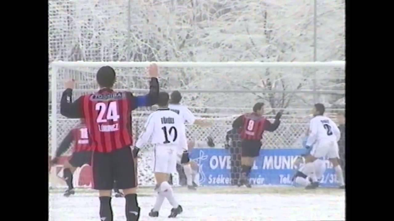 Dunaferr-Honvéd | 4-0 | 2001. 12. 05 | MLSZ TV Archív