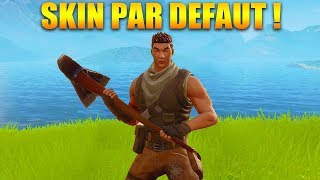 DEFI WIN WITH THE SKIN BY DEFAUT on FORTNITE BATTLE ROYALE!