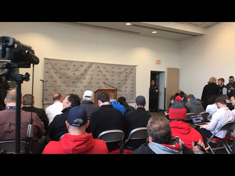Post game press conference Ohio State versus Michigan State