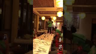 moment Ola Aina got initiated to the Super Eagles