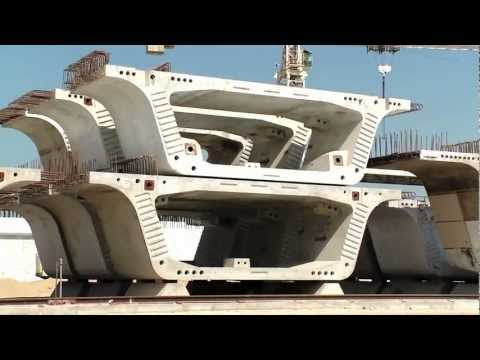 Bahrain's North Manama Causeway; How to: Modern Causeway Construction Educational Film