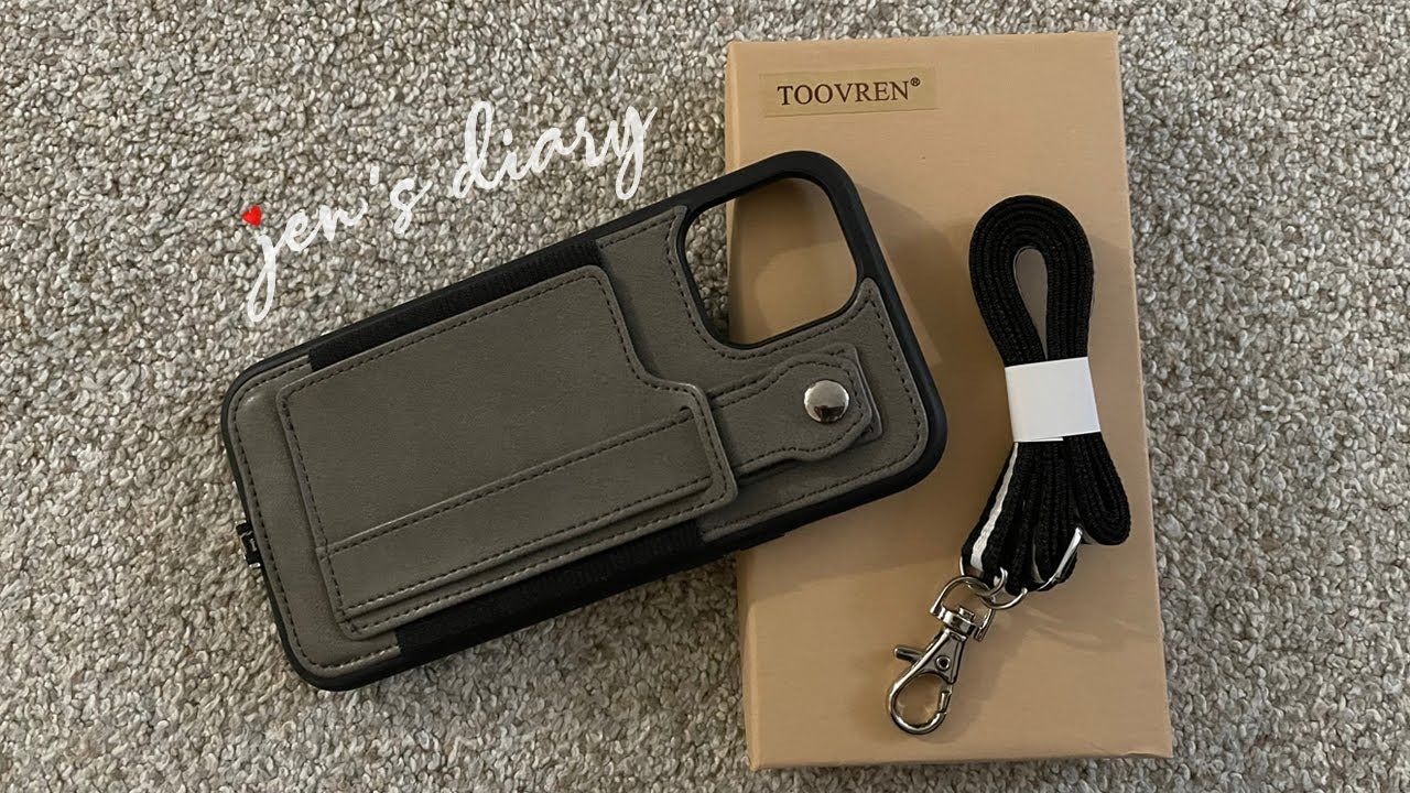 iPhone 12 Pro Max Toovren Phone Case with Wallet and Lanyard | Unboxing & Review