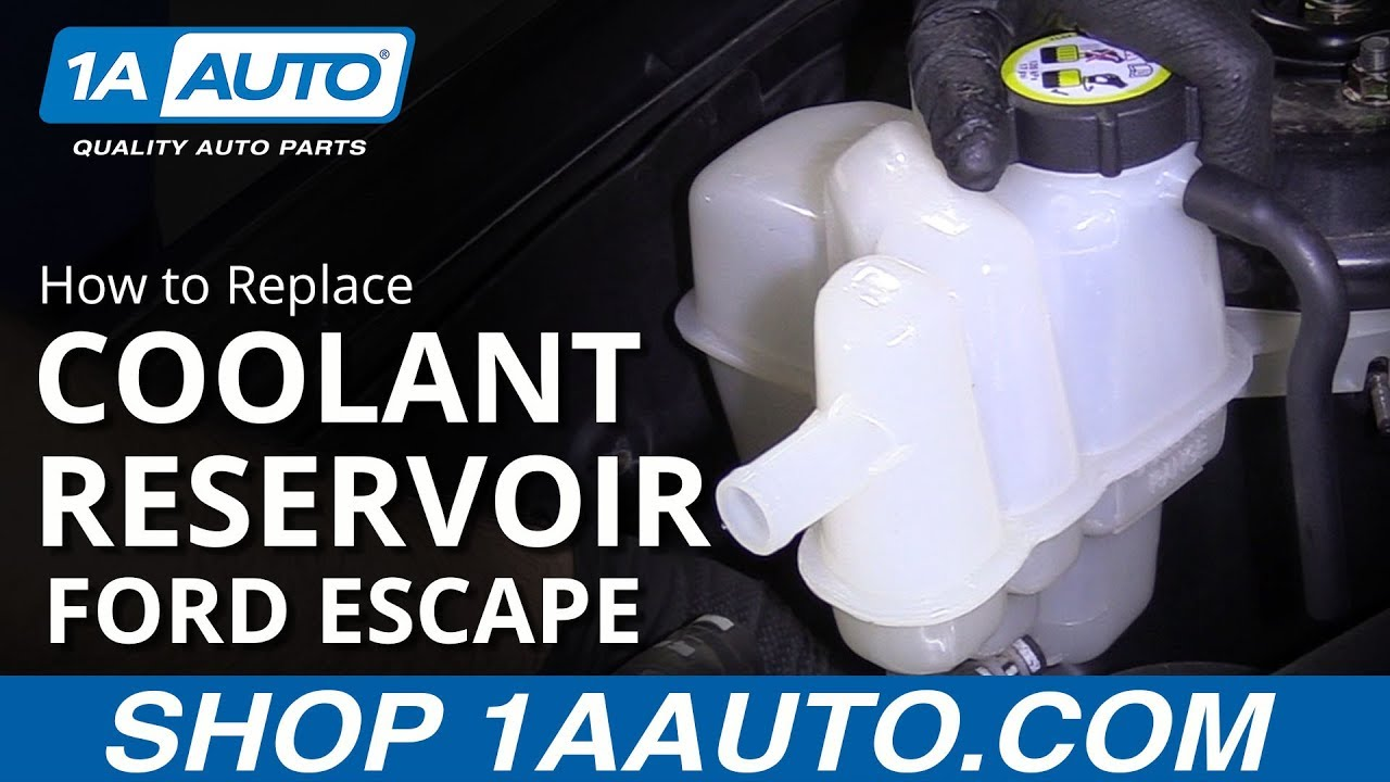 New Engine Coolant Overflow Tank For Escape Mariner