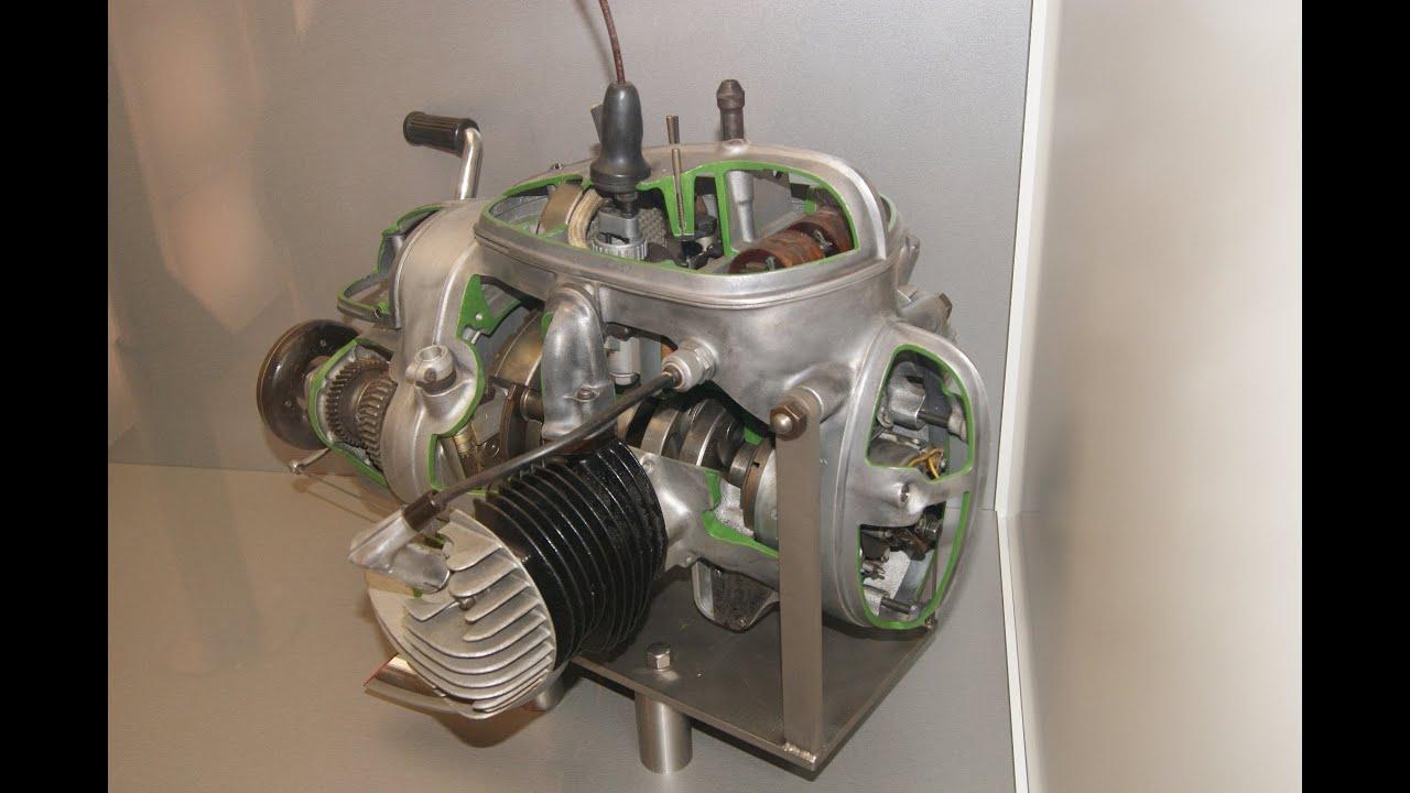 mz bk 350 motor schnittmodell 2 zylinder z ndung getriebe. Black Bedroom Furniture Sets. Home Design Ideas