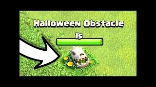 What Happens If You Remove The New Halloween Obstacle In Clash of Clans   Thang COC