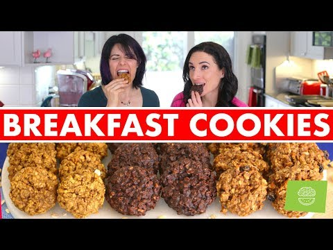Healthy Breakfast Cookies: Easy Portable Breakfast Recipes! Mind Over Munch!