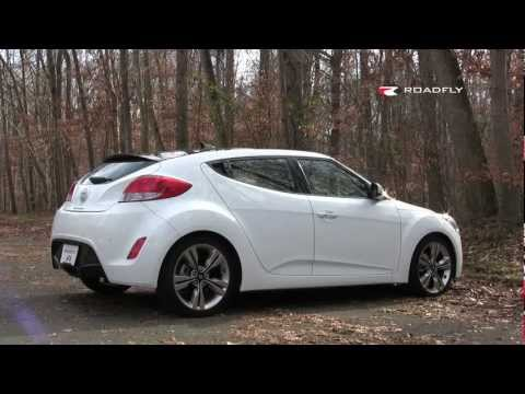 Hyundai Veloster 2012 Test Drive Car Review by RoadflyTV with Emme Hall