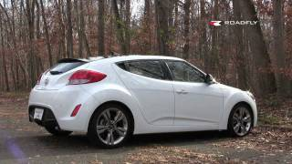 Hyundai Veloster 2012 Test Drive Car Review by RoadflyTV with Emme Hall смотреть