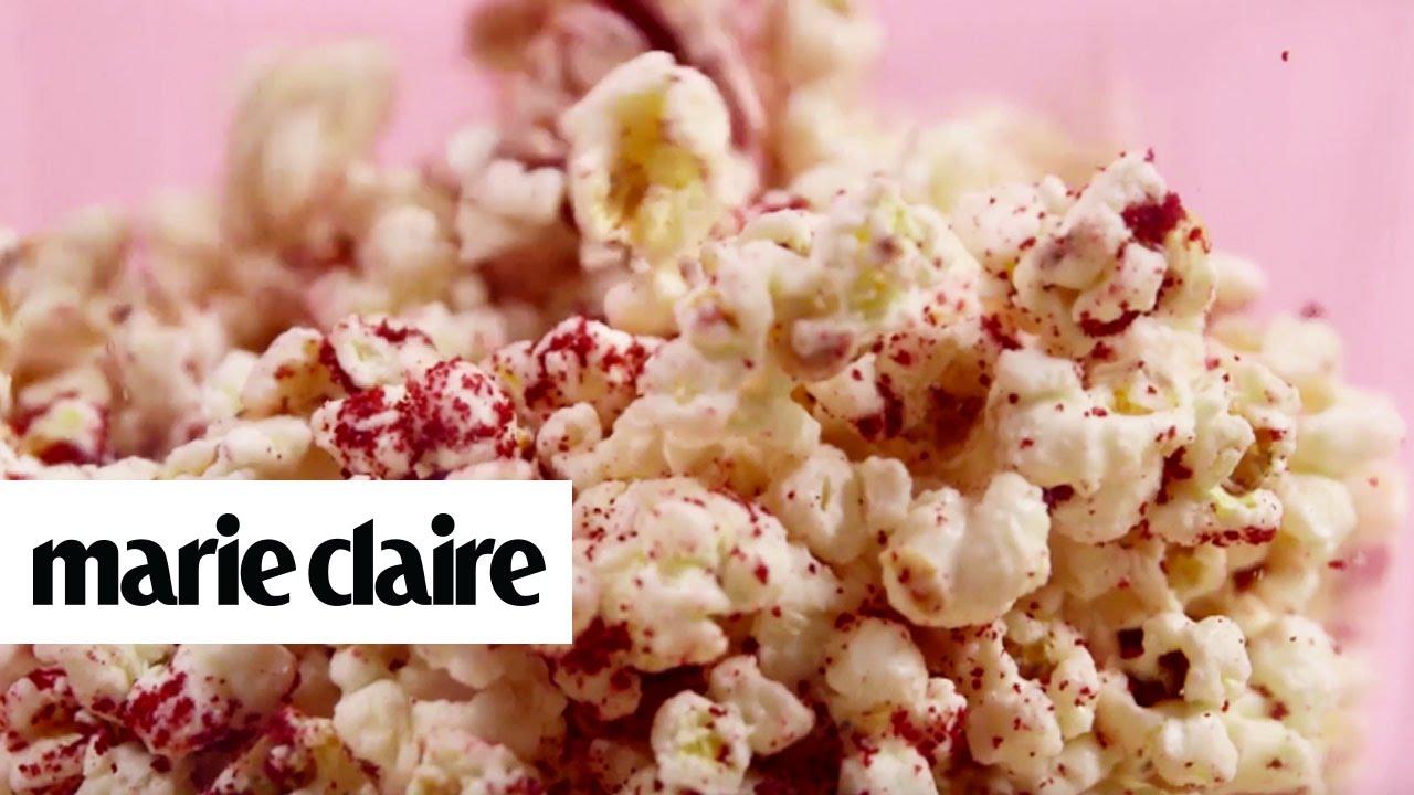 Red Velvet Cake Popcorn Recipe