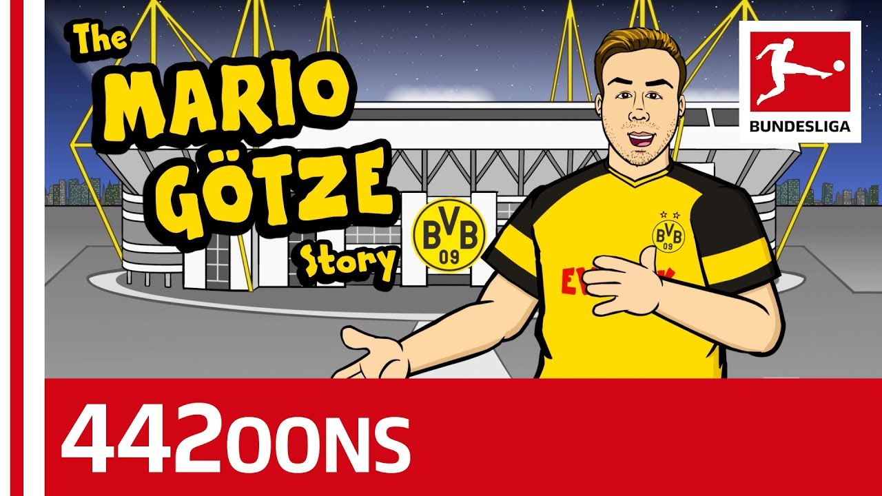 Download The Story of Mario Götze - Powered By 442oons